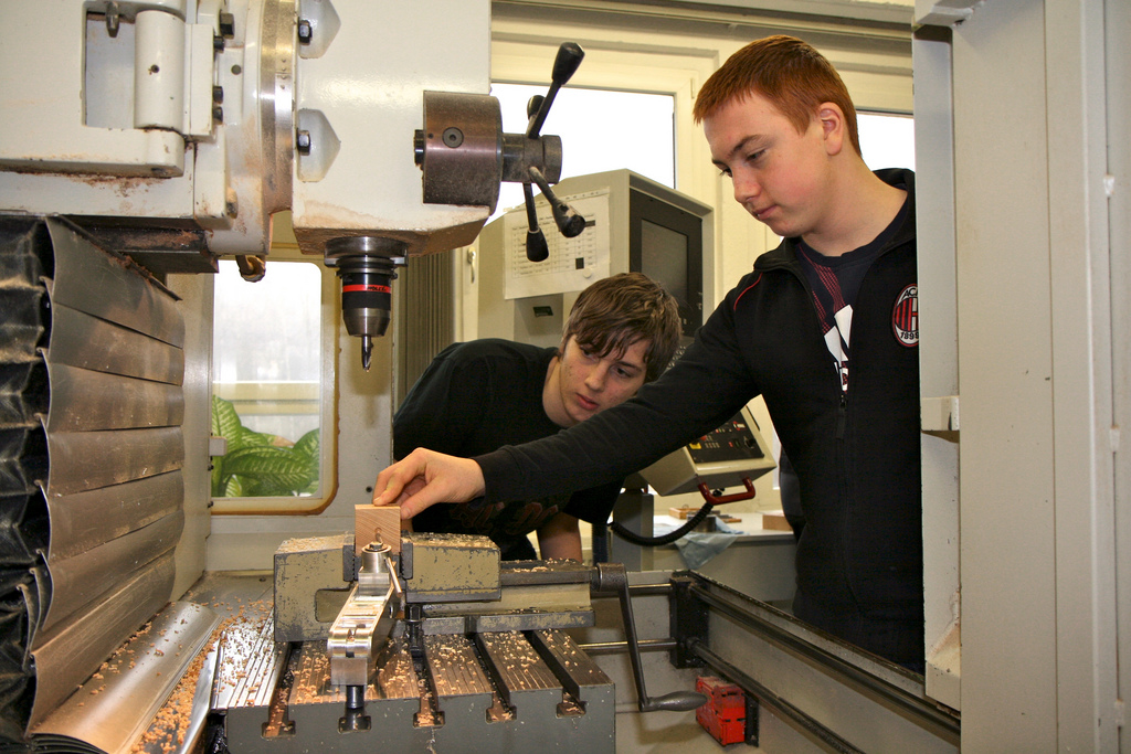 Talente im kaufmännischen oder gewerblich-technischen Bereich? Schulabgänger in NRW sollen das künftig schriftlich bekommen. Foto: ME-Arbeitgeber / Flickr (CC-BY-2.0)