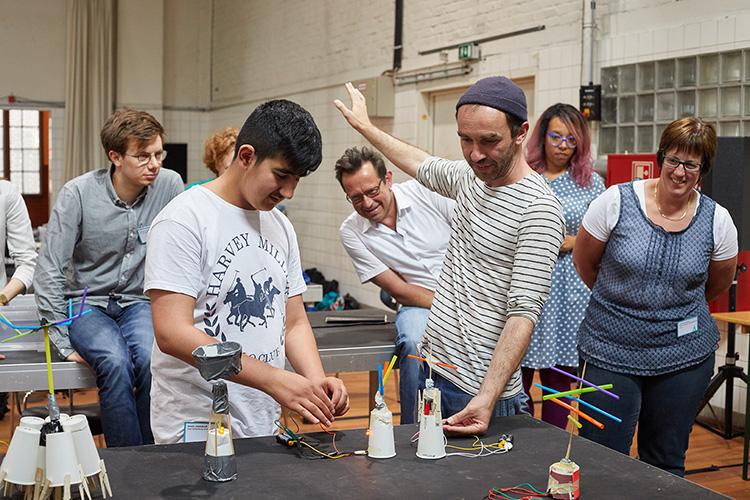 Kreativcamp, MUTIK, Roboter, Workshop, Naturwissenschaft, Technik