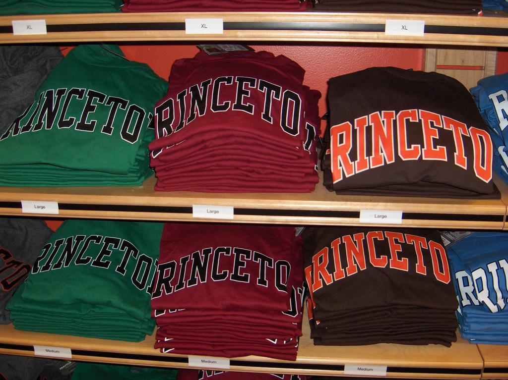 Hochschulpullover der Princeton-University