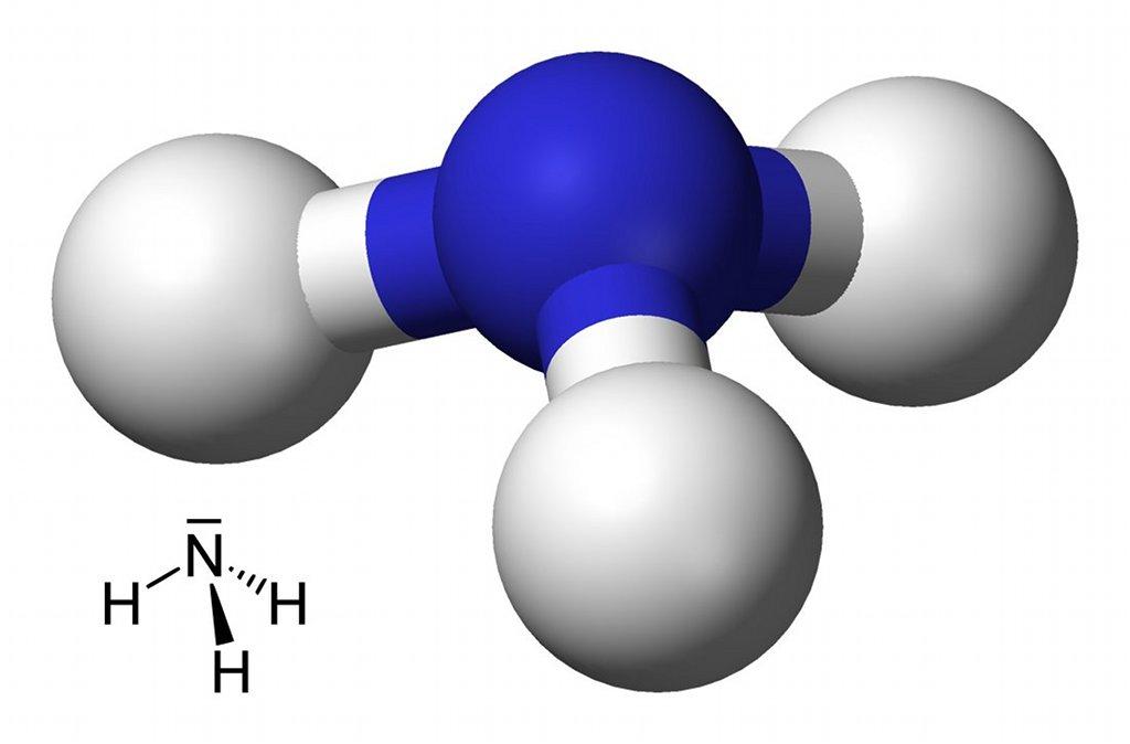 Was kann weg? Oft ist diese Frage freilich komplizierter als im Fall der Darstellung von (ammoniak-) Molekülen. Bild: Benjah-bmm27 / Yikrazuul / Wikimedia Commons