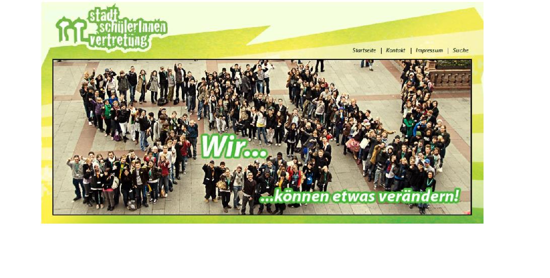 """Hier, auf der Seite der """"StadtschülerInnenvertretung München"""", findet sich der Streikaufruf. Screenshot von www.ssv-muenchen.de"""