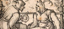 Schule fördert die Intelligenz, offenbar unabhängig vom Curriculum. Ist die Intelligenz also im Umkehrschluss bei einer Verkürzung der Schulzeit gefährdet? (Narr und Närrin, von Hans Sebald Beham (1500–1550) – Scan: Yellow Lion / Wikimedia Commons)