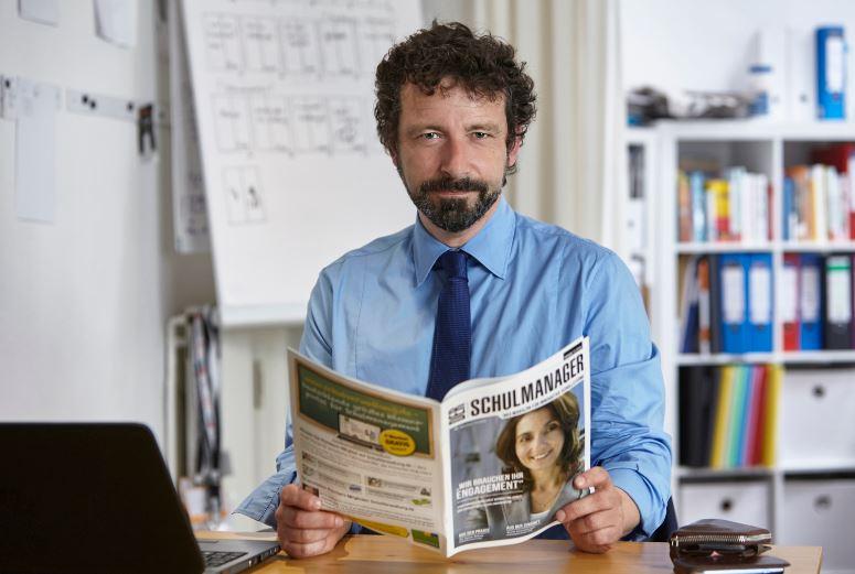 News4teachers-Herausgeber Andrej Priboschek. Foto: Tina Umlauf