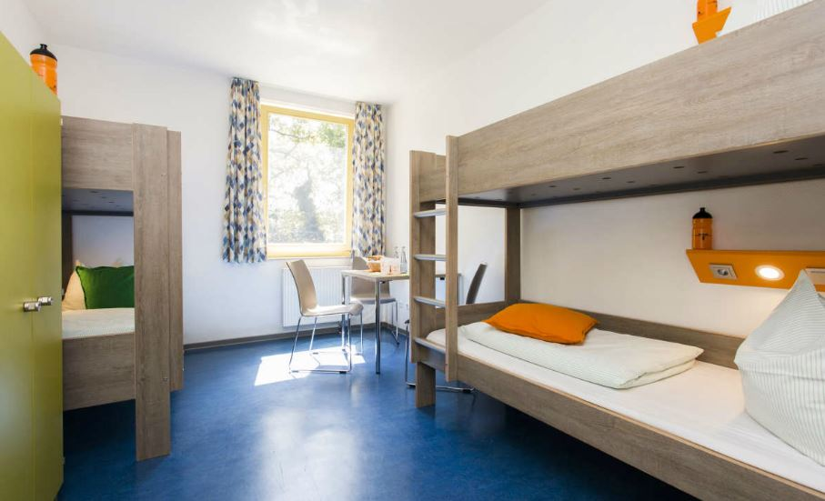 Zimmer in der Jugendherberge Ratingen. Foto: DJH Rheinland