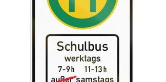 Müssen bald die Schulbus-Fahrpläne geändert werden? Illu: Shutterstock