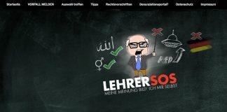 In Sachsen ist jetzt die dritte von mehreren angekündigten AfD-Plattformen zur Meldung von Verstößen gegen das Neutralitätsgebot ins Netz gegangen (Screenshot)