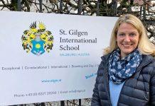 Martina Mötz (44) kehrt nach 18 Auslandsjahren nach Österreich zurück und übernimmt die Leitung der St. Gilgen International School. Foto: St. Gilgen International School