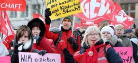 In der vergangenen Woche streikten in Berlin bereits Erzieher und Sozialpädagogen im Rahmen der Tarifrunde des öffentlichen Dienstes der Länder. Foto: GEW Berlin
