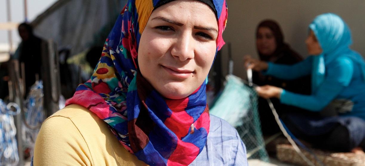 Die Syrerin Amani (Name geändert) ist 24 und Lehrerin. Als ihre Schule geschlossen wurde, unterrichtete sie ihre Schüler zuhause - bis auch das zu unsicher wurde und sie das Land verlassen musste. Foto: DFID - UK Department for International Development / flickr (CC BY 2.0)