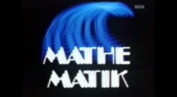 Mathematik wie aus dem Weltraum: Vorspann einer Telekollegsendung des WDR. Screenshot