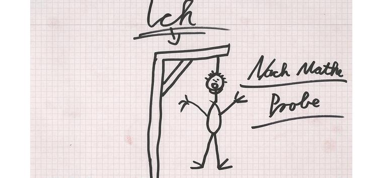 mitunter zeigen sch ler galgenhumor auf den zetteln foto museum f r kommunikation frankfurt. Black Bedroom Furniture Sets. Home Design Ideas