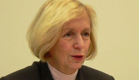 Von der GEW gedrängt: Bundesbildungsministerin Johanna Wanka (CDU). Foto: Axel Hindemith / Wikimedia Commons (CC0 1.0)
