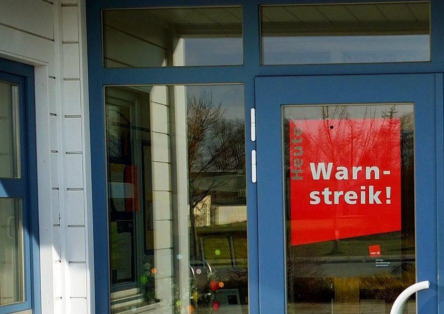 Angesichts der Streiks im öffentlichen Dienst werden kommende Woche wieder viele Einrichtungen tageweise geschlossen bleiben. Foto: Richard Huber / Wikimedia Commons (CC BY-SA 3.0) (Ausschnitt)