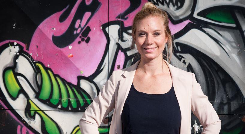 Große Ehre: Marie-Christine Ghanbari aus dem westfälischen Münster ist für den Weltlehrerpreis nominiert. Foto: Stefan Lehmann / Global Teacher Prize
