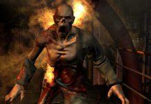 """Abstumpfend? Screenshot aus dem Computerspiel """"doom 3""""."""