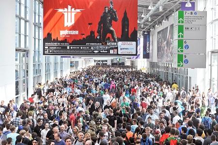 Jedes Jahr lockt die gamescom hunderttausende Videospielfans an den Rhein. Hier ein Foto aus dem Jahr 2013. Foto: Koelnmesse