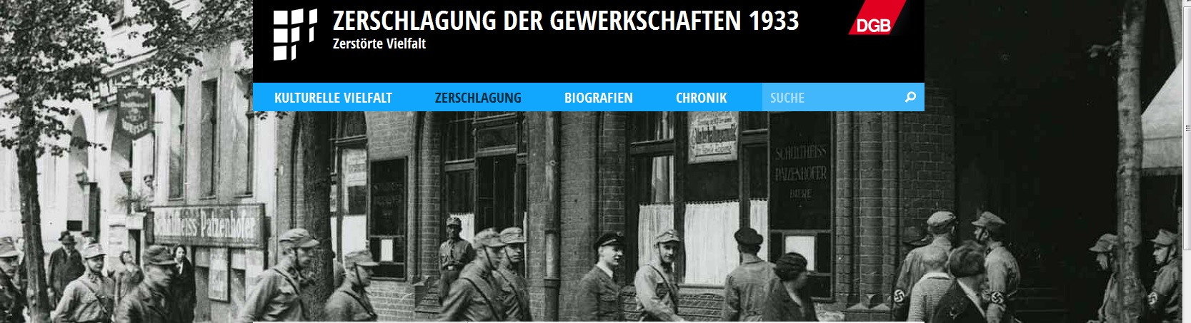 Die Internetseite erinnert erst mal nur an die Vorgänge in Berlin (Bild: Eigener Screenshot)