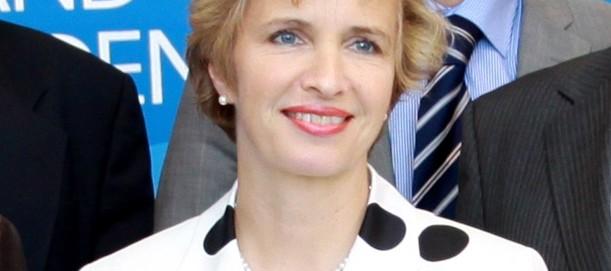 Kultusministerin, Ärztin, Mutter von sieben Kindern: Martina Münch (SPD).