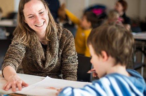 Eine Lese-Rechtschreibschwäche schon vor dem Beginn des Lesenlernens zu erkennen kann wichtige Vorteile bei der Förderung bringen. Foto. info-graz / flickr (CC BY 2.0)
