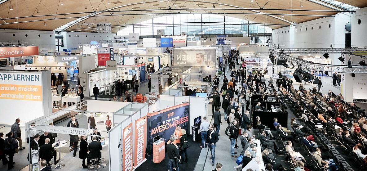 Großer Besucherandrang auf der Learntex in Karlsruhe. Foto: Messe Karlsruhe