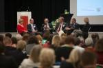 Podiumsdiskussion auf dem Bundeskongress. Foto: Alex Büttner